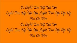 My Songs Know What You Did In The Dark (Light 'Em Up)|Fall Out Boy|Lyrics (Part 1 of 11)