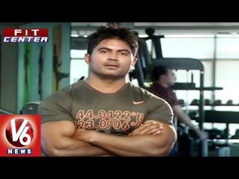 Fit Center || Trainer Venkat Fitness Tips To Build Six Pack || V6 News