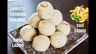 Rava Ladoo Recipe   Sooji Laddu   Rava Ladoo Without Sugar Syrup   Diwali Special Recipes