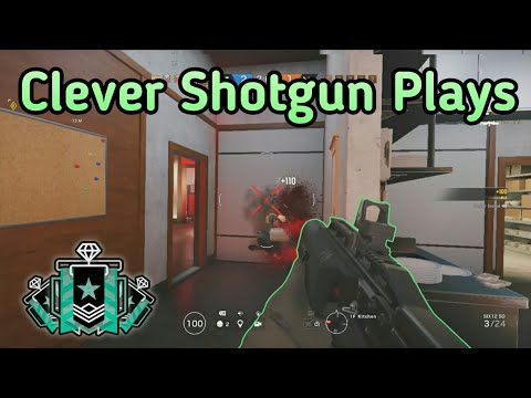 Lesion Shotgun Is OP : Xbox Diamond - Ranked Highlights - Rainbow Six Siege Gameplay