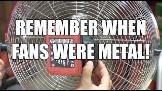 Metabo 18 Volt Cordless Fan AV 18