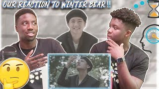 Winter Bear By V (REACTION)