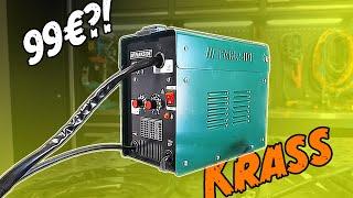 99 € Schutzgasschweißgerät – DER KRASSE UMBAU! | Discounter Lidl Top oder Flop | Igor Welder