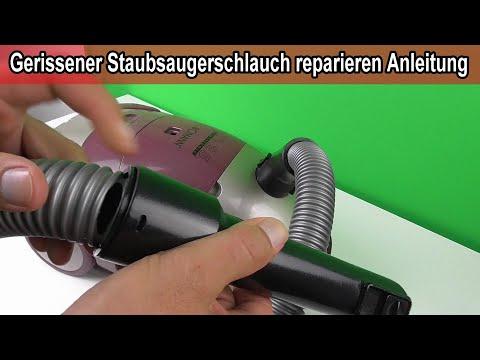 Staubsauger Schlauch gerissen - Kaputten Staubsaugerschlauch reparieren / wechseln - Anleitung