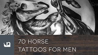 70 Horse Tattoos For Men
