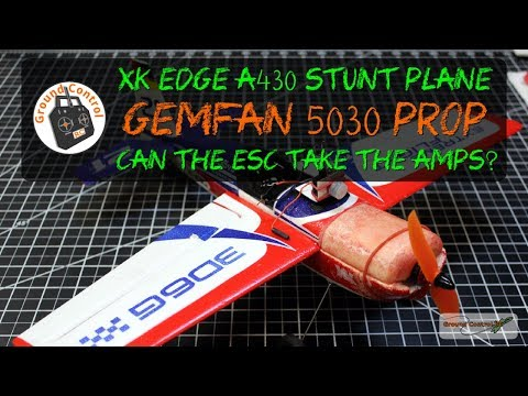 XK Edge With A Gemfan 5030 Prop and Racerstar BR1306 3100kv motor from Banggood
