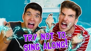SHOCKING TRY NOT TO SING ALONG CHALLENGE!