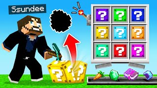 FINDING *LUCKY BLOCKS* For Our LOOT (Minecraft UHC)