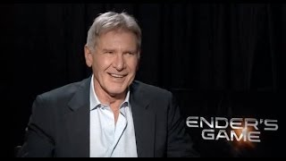 Ender's Game: Harrison Ford Interview (Extended)