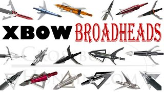 Choosing a Crossbow Broadhead