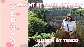 VLOG 79   A VISIT TO MOUNT ST BERNARD ABBEY