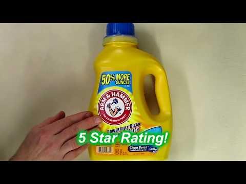 Arm & Hammer Laundry Detergent, Clean Burst, 75 Oz