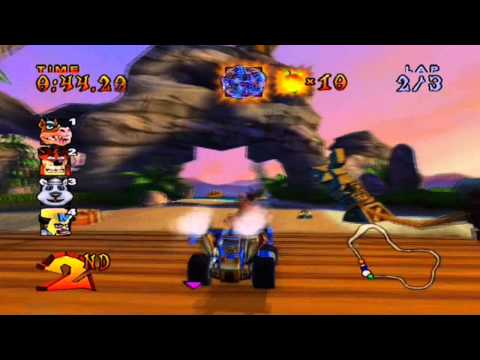 crash nitro kart gba unlock fake crash
