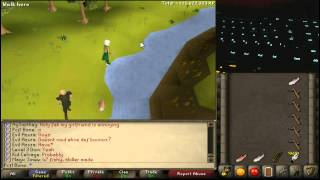 RuneScape 2007 - Best Guide to Fly Fishing Power-Methods