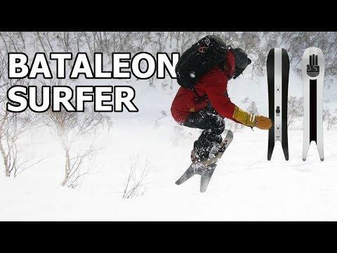 Japan Powder Surfing – Bataleon Surfer Snowboard Review