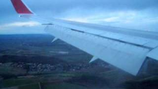 preview picture of video 'Landing at Vienna International Airport on an Austrian Airlines Boeing 767-300 (OE-LAX) from Dubai'