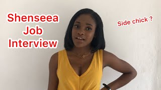 Shenseea Job Interview | @nitro__immortal