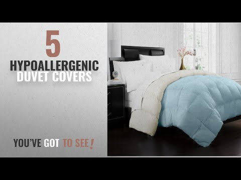Top 10 Hypoallergenic Duvet Covers [2018]: Beckham Hotel Collection 1700 Series Luxury Goose Down