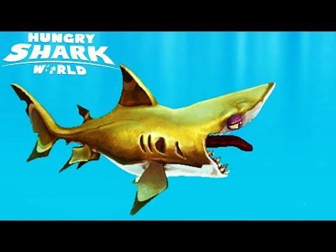 ГОЛОДНАЯ АКУЛА #1 Hungry Shark Прохождение игры для детей как мультик VIDEO FOR KIDS passing games