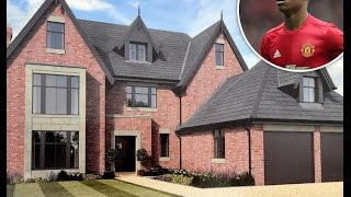 Manchester United players' Houses & Mansions