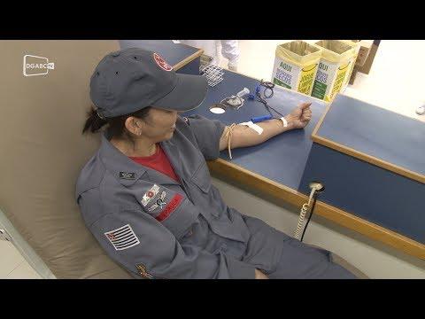 Bombeiros doam sangue e incentivam prática - Diário do Grande ABC