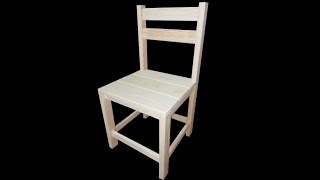 Making A Simple And Easy Dining  Chair