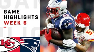 Chiefs vs. Patriots Week 6 Highlights | NFL 2018