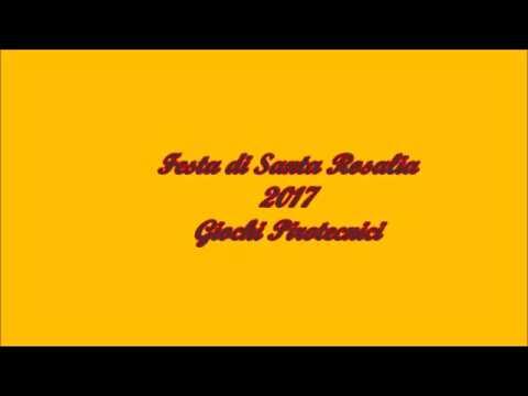 Festa di Santa Rosalia 2017 - Giochi pirotecnici.