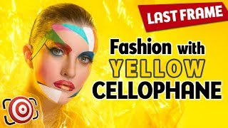 Fashion Portraits With Cellophane - A Great DIY Tool For Your Studio