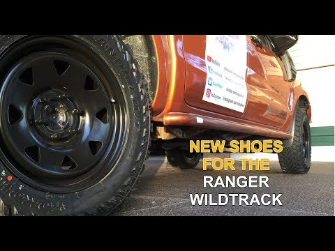 Ford Ranger - New set of tyres and rims for Off Road Driving from Bob Jane Capalaba