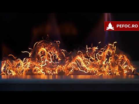 Imitatie jar pentru bioseminee GlowFlame