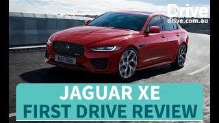 2019 Jaguar XE First Drive Review | Drive.com.au