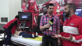 View the video American Heart Association has some fun at NTI