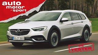 Opel Insignia Country Tourer: Ist der Kombi das bessere SUV? - Die Tester | auto motor und sport