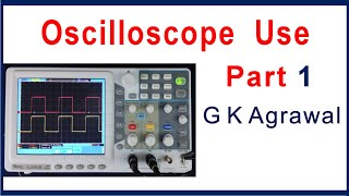 Oscilloscope use - how to use DSO, tutorial