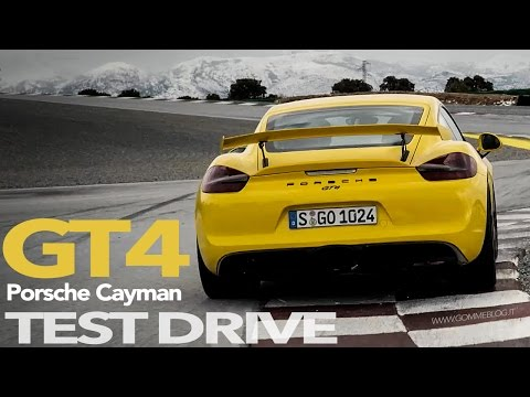 Porsche Cayman GT4 | TRACK TEST and SOUND ACCELERATIONS