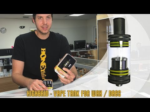 Highbrid Tank by | HoneyStick | Wax / Dab Vape Tank | All features, How to, 510 Thread | Voltage