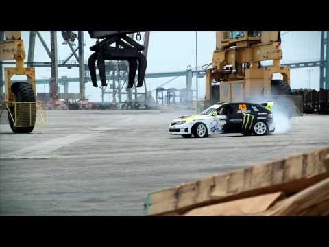 Ken Block Amazing Car Stunts Video