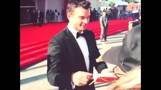 Tom attending Fans (01.09.13) #1
