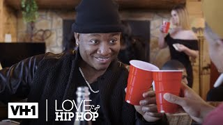 Stevie J  Yung Joc Turn Up A Wild Cabin Party w/ Beautiful Women | Leave It To Stevie