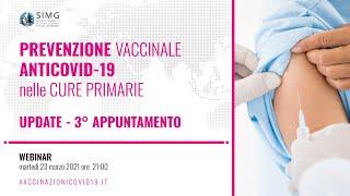 Prevenzione vaccinale AntiCovid-19 nelle cure primarie