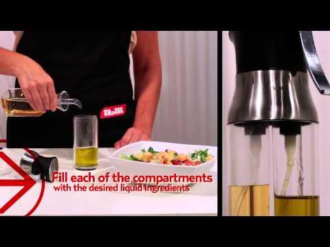Pulverizador de aceite-vinagre doble - IBILI - Double vinegar-oil sprayer