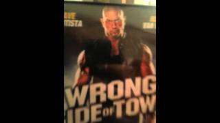 Wrong side of the dvd cover [wrong side of town]