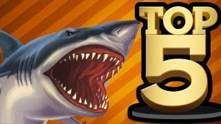 TOP 5 SHARKS IN VIDEO GAMES