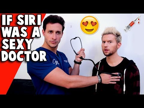 if siri was a hot doctor in real life ft doctor mike