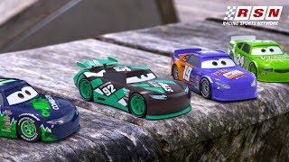 Cars Daredevil Garage Takes on the Playground   Racing Sports Network by Disney•Pixar Cars