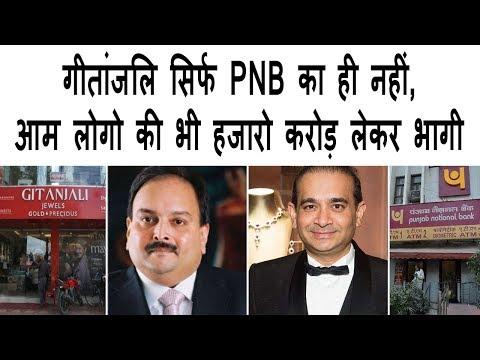 गीतांजलि शिर्फ़ PNB ही नहीं, आम लोगो की भी हजारो करोड़ लेकर भागी | Mehul Choksi and nirav modi fraud