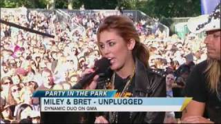 Miley Cyrus and Bret Michaels Team Up