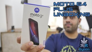 Moto G4 Plus Unboxing and Hands On First Look - iGyaan