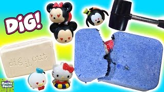 Real Vs DIY DIG IT Bars! Tsum Tsum & Gems Which Is Better? Doctor Squish